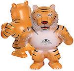 Tiger Mascot Stress Balls